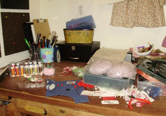 Messy, messy!
