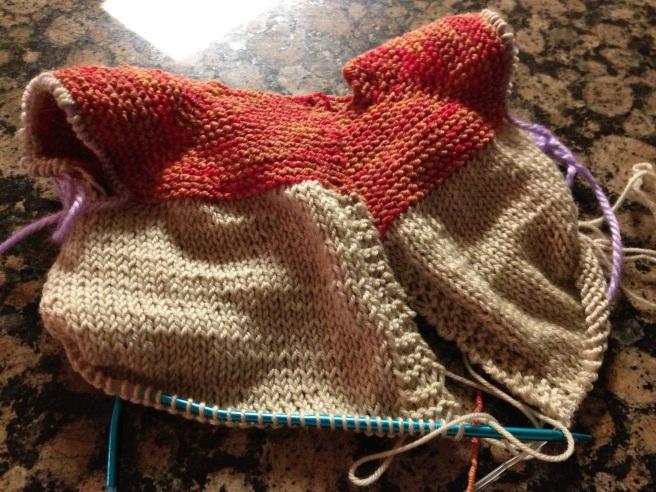 I'm loving the yarn!