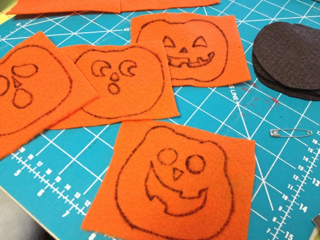 Outline Pumpkins